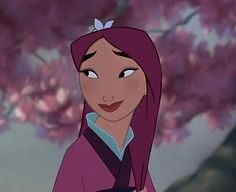 Mulan | Disney Princesses With Hair Matching Their Outfits Is Kind Of Magical