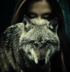 Wolf Spirit - A power animal symbolic of freedom. The wolf totem is a reminder to keep your spirit alive and trust your instincts to find the way that will best suit you. Big Bad Wolf, Wolf Spirit, Wolf Girl, Lone Wolf, Red Riding Hood, Vampires, Fantasy Art, Fairy Tales, Beast