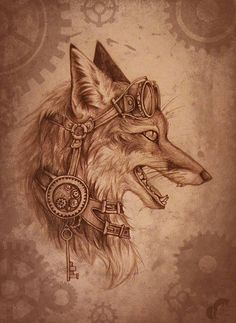 Steampunk Fox
