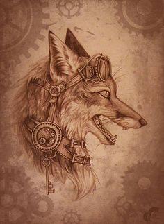 Steampunk Fox