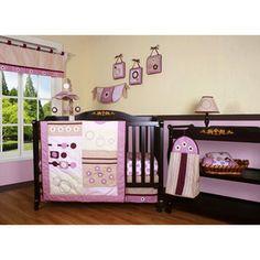 Geenny Boutique Baby Girl Artist 13 Piece Crib Bedding Set