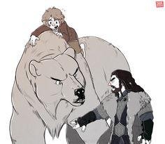 Thorin: You will not take my burglar!