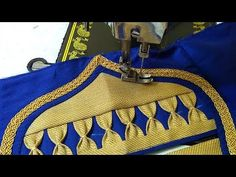 Blouse design for saree - YouTube