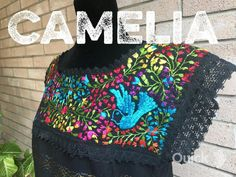 103f9a8030104 Loomed Mexican Blouse – Camelia Mexican Boutique  silkembroidery Mexican  Blouse