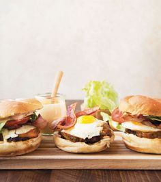 It is an undisputed, very unscientific fact that a breakfast burger—of the fatty, greasy, almost overwhelming sort—is the best cure for a hangover.    Get the recipe fromDelish.