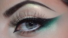 Gradient cat eye perfect for #stpattys