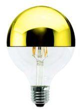 Lampada a LED Gloobo Cupola Dorata Wireled 5W - 1