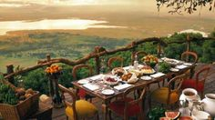 Accommodation TANZANIA - Ngorongoro Crater Lodge, a Bush/Safari Lodges situated in Ngorongoro Crater Highlands, TANZANIA. Ngorongoro Crater Lodge bookings and reservations. The Places Youll Go, Places To Go, Safari Holidays, Tanzania Safari, Arusha, Out Of Africa, African Safari, Luxury Travel, Luxury Getaways