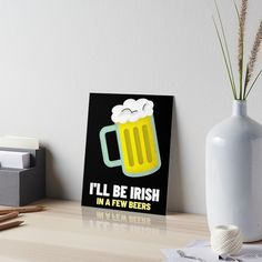 Saint Patricks Day Art, Watercolor Paper, Art Boards, Irish, It Works, Presentation, Dots, Beer, Art Prints