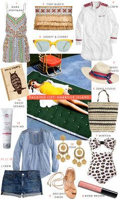PACKING LIST: HARBOUR ISLAND - Luella & June