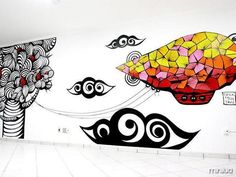 14 Imagens mostrando que ter paredes grafitadas em casa pode ser uma ótima ideia