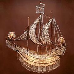 I am in love!!!!!!!   Image detail for -Crystal Ship Chandelier | Hanging Lamps | Lighting | Z Gallerie on ...