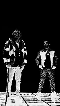 Drake & Future Phone Wallpaper