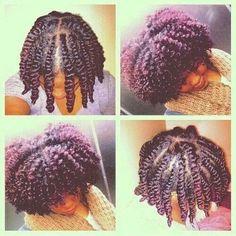 Twist Out   Natural Hair