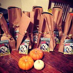 What cute idea! #tradeskool goodie bags for kids class party! #tradeorplay  tradeskool.com