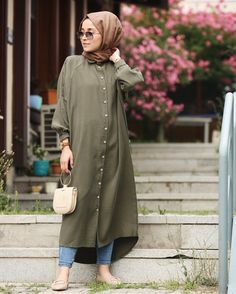 Pinterest: just4girls Hijab Fashion Summer, Modest Fashion Hijab, Modern Hijab Fashion, Muslim Fashion, Fashion Outfits, Hijab Style Dress, Casual Hijab Outfit, Modest Wear, Modest Dresses