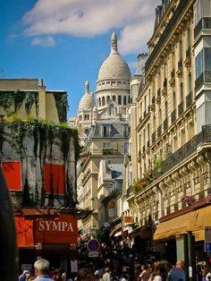 Paris. By NikitaDB. View on Sacre Coeur. *