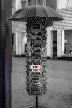I Heart Brussels Postcard <3