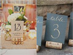 Rolha no Casamento: 10 ideias pra te inspirar! | http://blogdamariafernanda.com/rolha-no-casamento-10-ideias-pra-te-inspirar