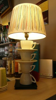 We have some passion for white porcelain and Ikea HEMMA lamps ...