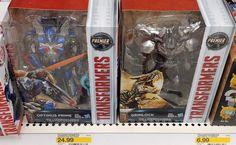 Transformers The Last Knight Broken Streetdate Saga: Voyager Optimus And Grimlock