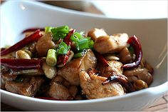 Kung Pao Chicken Recipe - I tried to keep my Kung Pao Chicken recipe as authentic as possible, but feel free to tone down the quantity of dried chilies as you wish. I wanted to share the secret ingredient of Kung Pao chicken, which is vinegar in the sauce. It gives that subtle yet characteristic touch to complete the Kung Pao flavor. #Chinese #Chicken #KungPao
