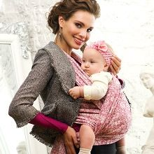 Diva Milano is one of the most gorgeous baby wraps made. The wool Rosa Veneziano is one of my favorite.