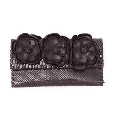 jazmine clutch in snake black | PAOLA PERES COMPLEMENTOS