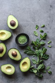 The 'green-spiration' ensued; matcha, mint, & avocado would tint the filling the perfect shade of green! The 'green-spiration' ensued; matcha, mint, & avocado would tint the filling the perfect shade of green! Healthy Diet Recipes, Healthy Meal Prep, Healthy Snacks, Healthy Fats, Healthy Options, Food Photography Styling, Food Styling, Guacamole, Avocado Toast