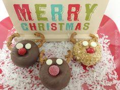 How to make a  Reindeer Holiday Dessert