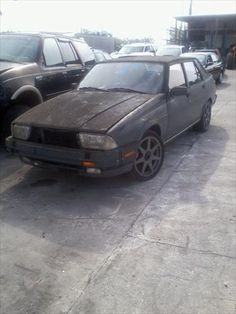 1987 Alfa Romeo Milano - Parting Out from South Florida Auto Recycling four locations in South Florida for all you automotive needs. New, used and rebuilt parts available.