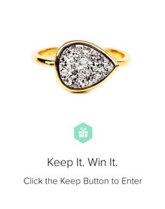 Enter to win a Drusy Drop Ring from @stacy @ LEIF and @lindsay eller!