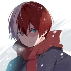 My Hero Academia Shouto, Hero Academia Characters, Anime Characters, Cute Anime Guys, Anime Love, Anime Angel, Animes Wallpapers, Boku No Hero Academy, Me Me Me Anime