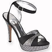 1951a3039eb Jacqueline Ferrar Claire Glitter Sandals Sell Shoes