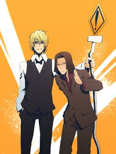 I freaking LOVE Tom and Shizuo!~ Tom is not  given enough credit