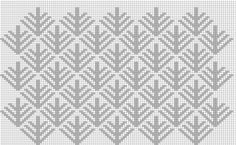 【こぎん刺し】松笠図案 : とりあんぐる 123 Cross Stitch, Cross Stitch Charts, Cross Stitch Embroidery, Hand Embroidery, Cross Stitch Patterns, Tapestry Crochet, Knit Crochet, Japanese Embroidery, Handmade Art