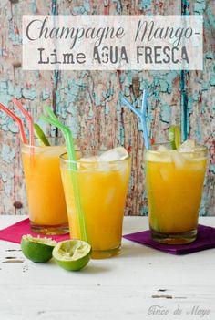 Champagne Mango-Lime Agua Fresca | Boulder Locavore