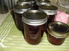 Just Call Me Cranberry Obsessed. Cranapple jelly made from The Enabling Cook's 100% Cranberry Juice
