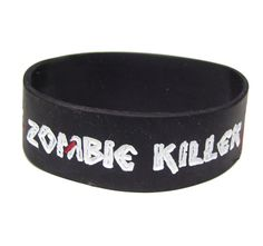 Anyone in Glasgow or Liverpool joining in the '2.8 hours later' event? If you are you'll be in need of some zombie defeating clobber! Well you're in luck!     Here at pulp we have an awesome selection of zombie themed clothing and accessories! This wristband is £4 so head down to store fast while stocks last …and good luck surviving the zombie apocalypse!    For all details on how to take part in the event visit 2.8hourslater.com (this is an 18+ event)