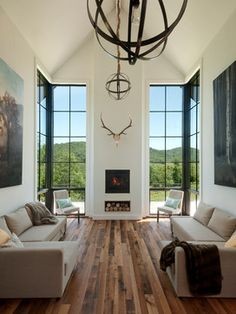 GreenSpur's One Nest Project - contemporary - living room - dc metro - McGraw Bagnoli Architects
