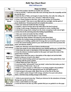 Reiki-Tips-Cheat-Sheet.png (934×1211)