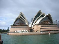 Down Under .... Honeymoon in 1998.  Tour, boat ride, symphony concert....