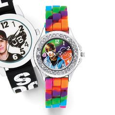 Justin Bieber Justin Bieber Early Years Watch With Tie-Dye Strap