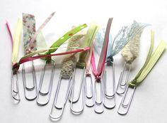 images of embellished tags for scrapbooking | DIY Scrapbook Embellishment tutorials: