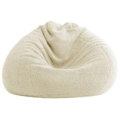 @Overstock - Comfortable and durable, this teardrop-shaped BeanSack chair has a plush Natural polyester sherpa cover and is filled with long-lasting polystyrene beans. This chair is perfect for any room including home theater rooms, family and game rooms.http://www.overstock.com/Home-Garden/BeanSack-Ultra-Natural-Sherpa-Lounge-Bean-Bag-Chair/7356571/product.html?CID=214117 $53.99