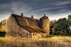 Morning photo of Barn in rural Minnesota HDR by Wade McDonald