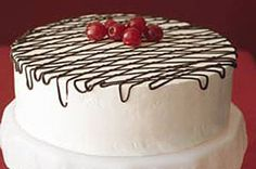 Black Forest Delight [Also used blueberries and raspberries in between the layers and on top. The raspberries are especially good with raspberry jello too]