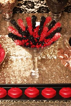 Burlesque Cocktail Party Party Ideas | Photo 1 of 33 | Catch My Party