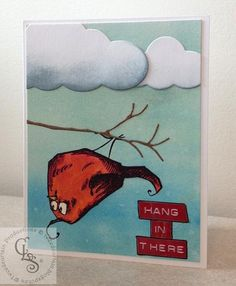 Hang in There by tweedcurtain - Cards and Paper Crafts at Splitcoaststampers