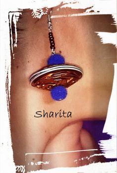 """PENDIENTES NESPRESSO """"PEONZA"""" by Sharita"""